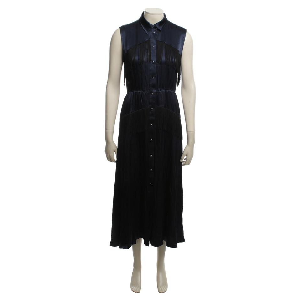 Ganni Maxi Dress in Blue