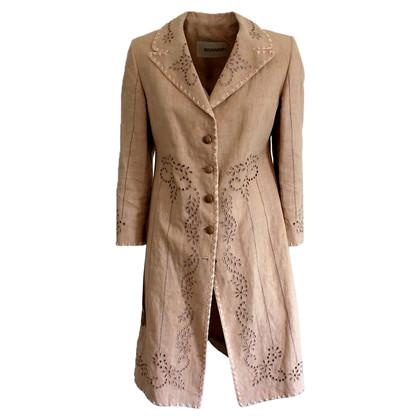 Ermanno Scervino Embroidered overcoat