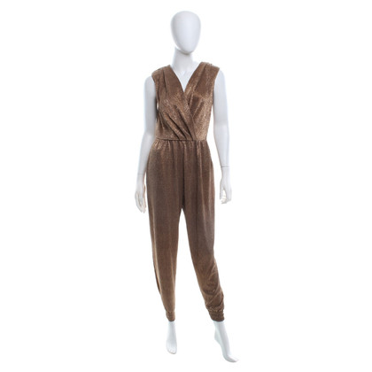 Elisabetta Franchi Jumpsuit in gold