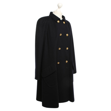 Rena Lange Coat in donkerblauw