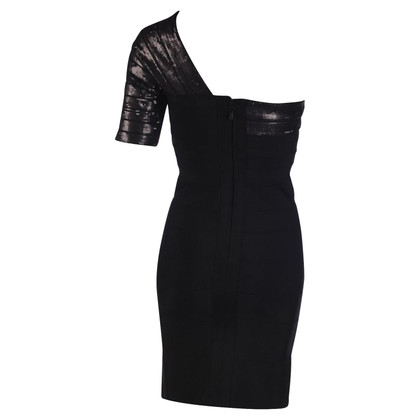 Hervé Léger One-Shoulder-Kleid