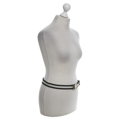 Gucci Belt in black and white