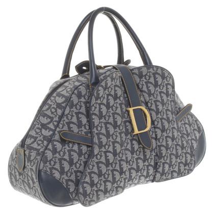 Christian Dior Borsa a mano con motivo logo