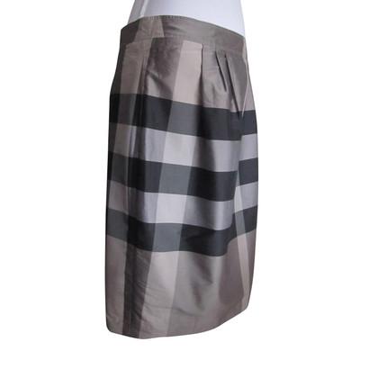 Burberry skirt made of silk mix