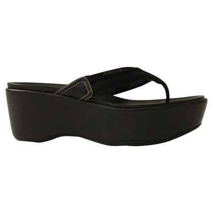 Prada Flip Flops Wedge