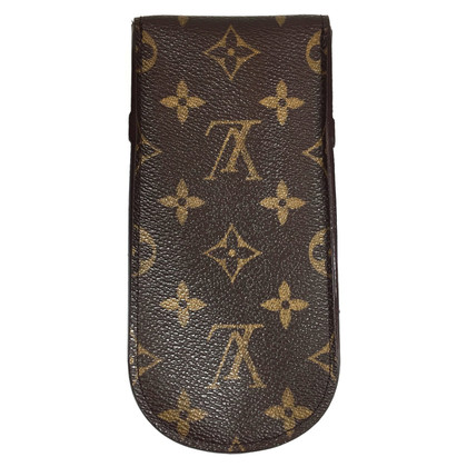 Louis Vuitton Brillenetui aus Monogram Canvas