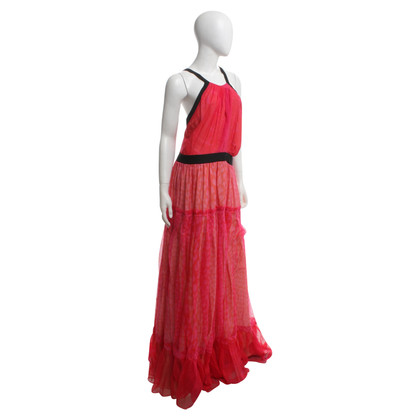 Roberto Cavalli Evening dress in red / orange / pink