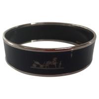 Hermès Blue lacquered bracelet