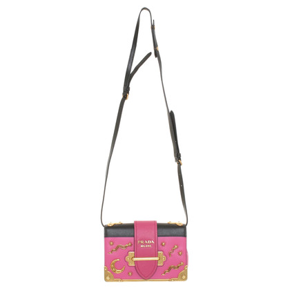 Prada Bag in fuchsia / black