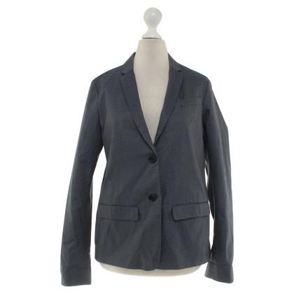 Hartford giacca tratteggiata in grigio