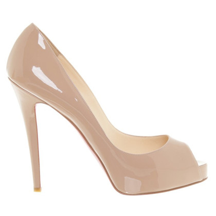 Christian Louboutin Zeer prive 120 in nude