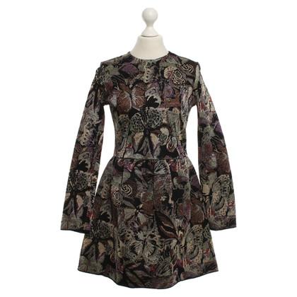 Valentino Kleid mit Webmuster