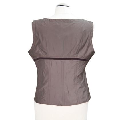 Karen Millen top in brown