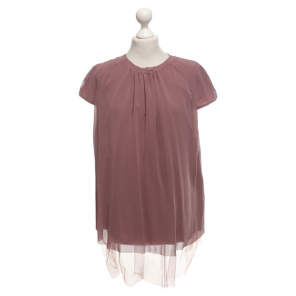 Cos Blouse in blush pink