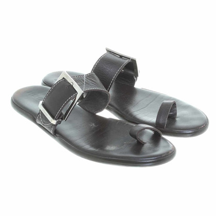 Hogan Sandal in dark brown