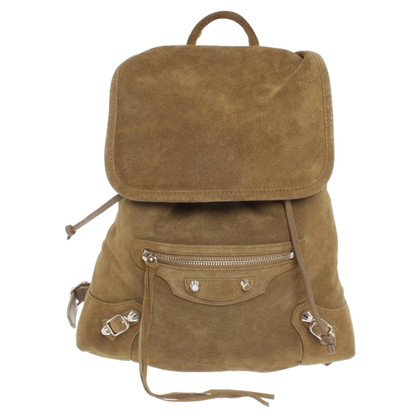 Balenciaga Suede backpack