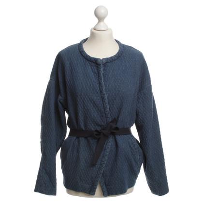 Isabel Marant Etoile Giacca di jeans con cintura