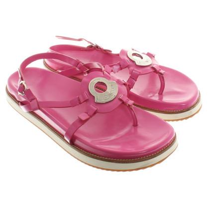Moncler Sandales en rose
