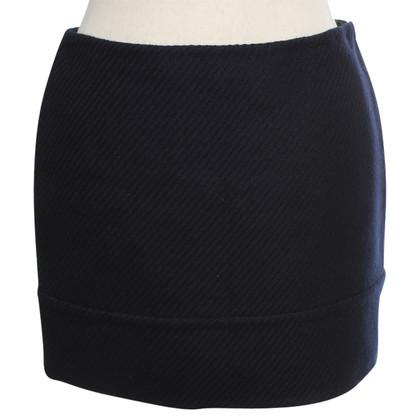 Prada Wool skirt in dark blue