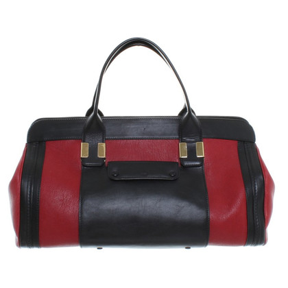 "Chloé ""Alice bag"" in red/black"