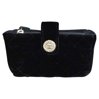 Chanel Money bag made of velvet