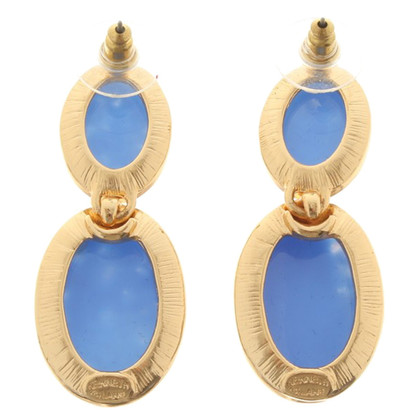 Kenneth Jay Lane Boucles d'oreilles en Bicolor