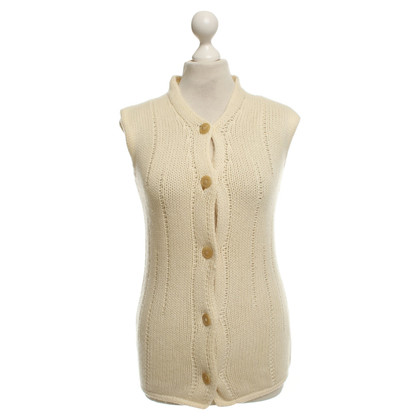 Brunello Cucinelli Tank top in cream
