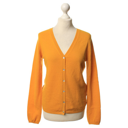 FTC Cashmere Cardigan in yellow