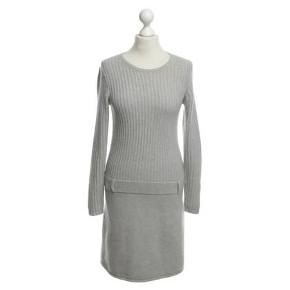 Iris von Arnim Cashmere dress in grey