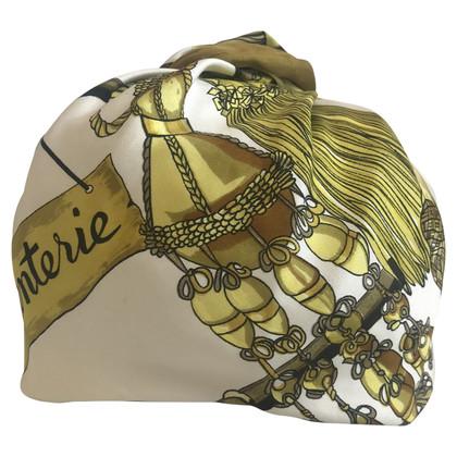 Hermès Vintage zijden hoofddeksel