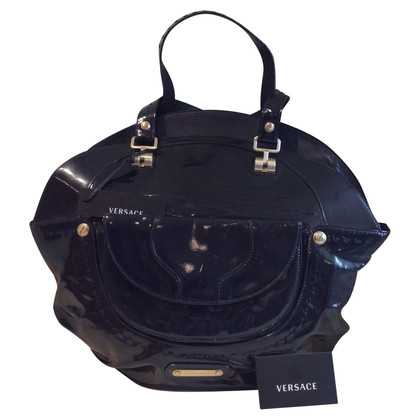 Versace Patent leather handbag