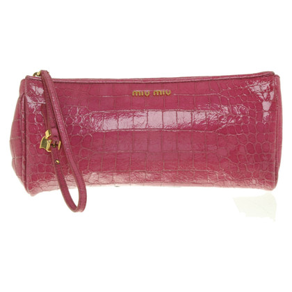 Miu Miu clutch in pink