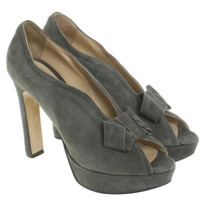 Twin-Set Simona Barbieri Peep-toes in grey