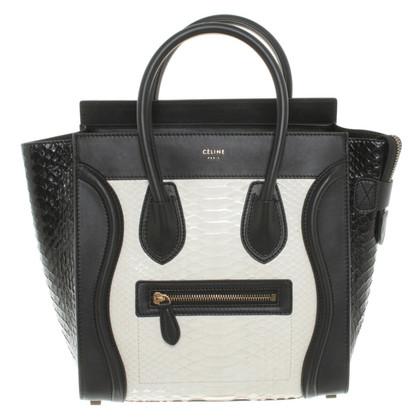 Céline Handle bag with Phytonleder