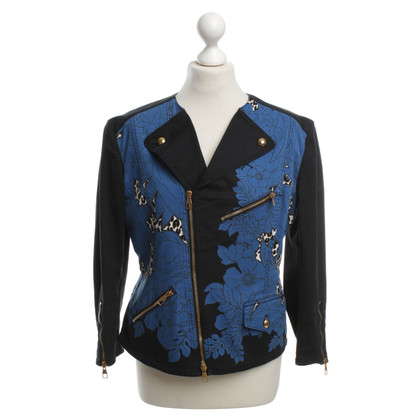 Louis Vuitton biker jacket with Motif Print