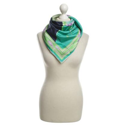 Leonard Zijden sjaal met motief druk