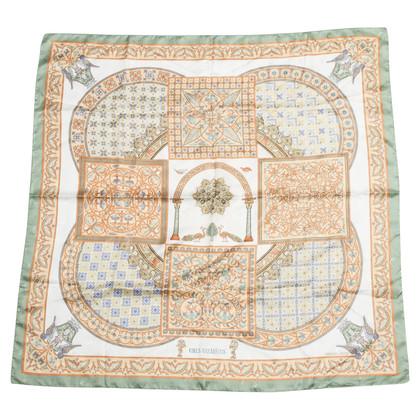 "Hermès Silk scarf ""Ciels Byzantis"""