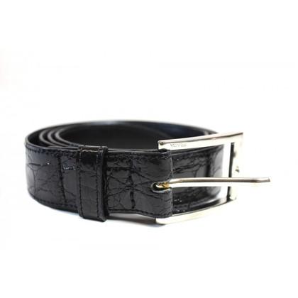 Prada Crocodile leather belt