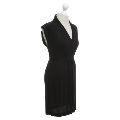 French Connection Wrap dress in black