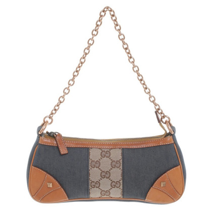 Gucci clutch Denim
