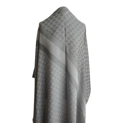 Gucci Guccissima doek grijs