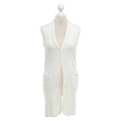 Brunello Cucinelli Long vest in cream