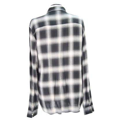 All Saints Checkered blouse