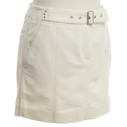 Turnover Short skirt in cream