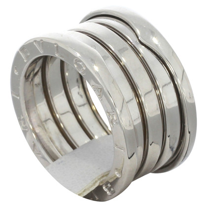 "Bulgari ""B.Zero ring"" in white gold"
