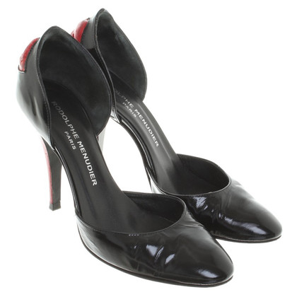 Other Designer Rodolphe Menudier - pumps black leather