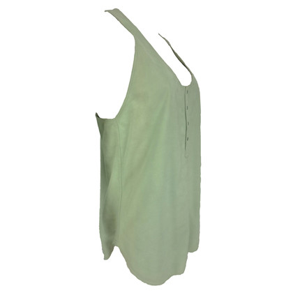 Diesel Black Gold Lederen top in mint Green