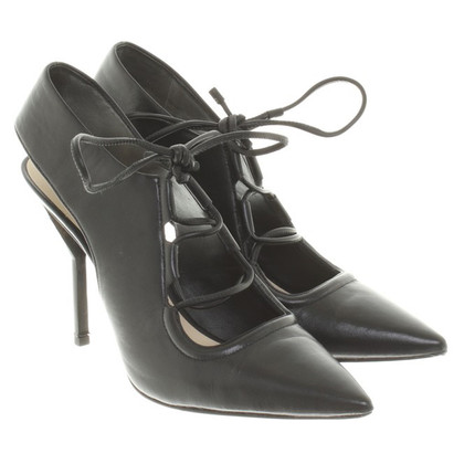 3.1 Phillip Lim Lederen pumps in zwart