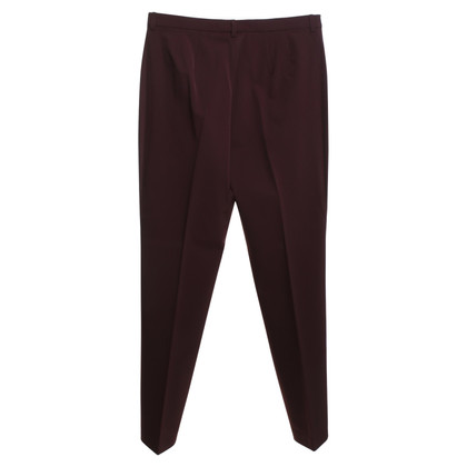 Gunex trousers in wine red