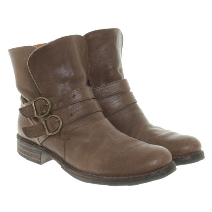 Fiorentini & Baker Biker boots in dark brown